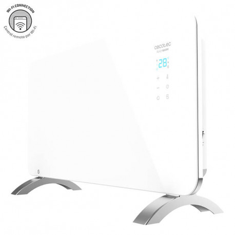 Ready Warm 6700 Crystal Connection - Radiatore convettore elettrico Wi-Fi 1500 W